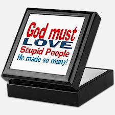 God Must Love Keepsake Box