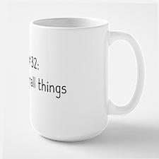 rule 32 hat Large Mug