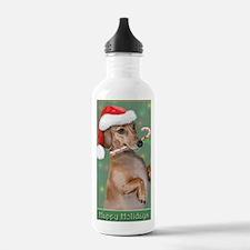 Dachshund Lillys Chris Water Bottle