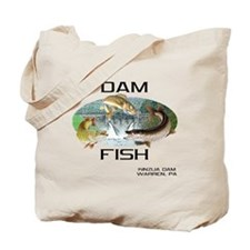 DAMFISH Tote Bag