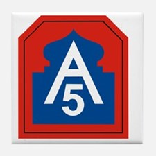 5th Army Tile Coaster