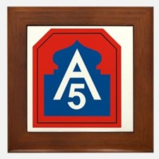 5th Army Framed Tile