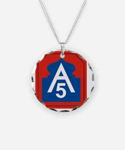 5th Army Necklace