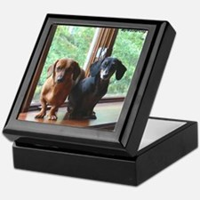 dasie and harley window seat Keepsake Box