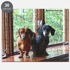 dasie and harley window seat Puzzle