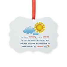sunshineShirt4 Ornament