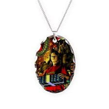 krampuscard3small Necklace Oval Charm