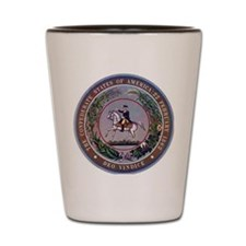 SEAL OF THE CONFEDERATE STATES OF AMERI Shot Glass