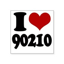 """ilove90210 Square Sticker 3"""" x 3"""""""