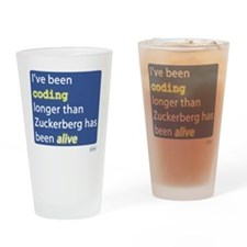 Coding Longer Than Zuckerberg Drinking Glass