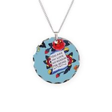YouAreMyLoveTattooiPadCaseTe Necklace Circle Charm