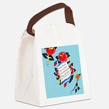 YouAreMyLoveTattooiPadCaseTemp Canvas Lunch Bag