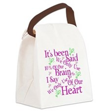 Brain Canvas Lunch Bag