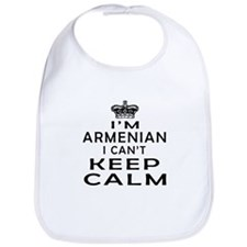 I Am Armenian I Can Not Keep Calm Bib