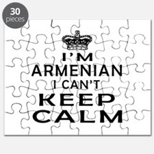 I Am Armenian I Can Not Keep Calm Puzzle