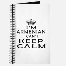 I Am Armenian I Can Not Keep Calm Journal