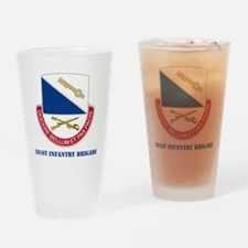dui-181 IN BDE WITH TEXT Drinking Glass