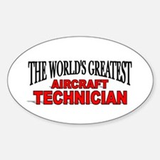 """""""The World's Greatest Aircraft Technician"""" Decal"""