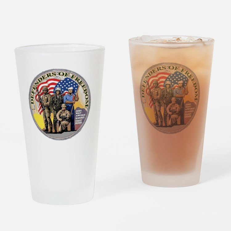 DEFENDERS Drinking Glass