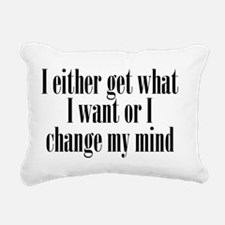 getwhatIwant_btle1 Rectangular Canvas Pillow