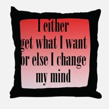 getwhatIwant_rnd2 Throw Pillow