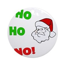 ho-ho-no Round Ornament