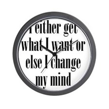 getwhatIwant1 Wall Clock