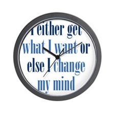 getwhatIwant3 Wall Clock