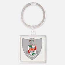 5th Infantry Regiment Square Keychain