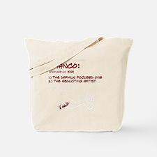 allwheresfrtext2 Tote Bag