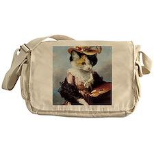 Miss Kitty Messenger Bag