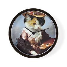 Miss Kitty Wall Clock
