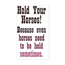 holdyourhorses_journal Decal