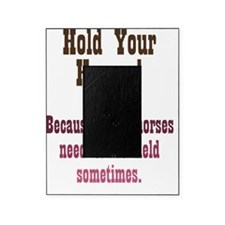 holdyourhorses_ipad Picture Frame