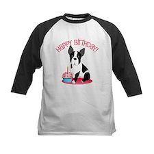 Happy Birthday Boston Terrier Baseball Jersey