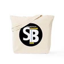 SculptureBarn_Hat_round Tote Bag