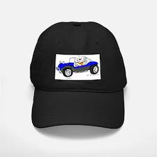 Dune Buggy Dark Lines in Color Blue Baseball Hat