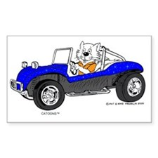 Dune Buggy Dark Lines in Color Decal
