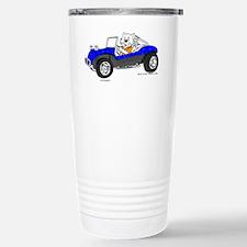 Dune Buggy Dark Lines in Color  Travel Mug