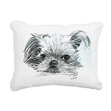 Nellie Rectangular Canvas Pillow