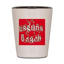 laguna_beach_ornament_oval Shot Glass
