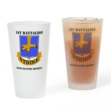 1-502ND IN RGT WITH TEXT Drinking Glass