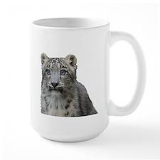 snow leopard cub Mugs