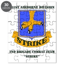 101st ab div 2nd Brigade Combat Team WITH T Puzzle