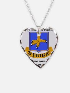 101st ab div 2nd Brigade Comb Necklace