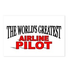 """The World's Greatest Airline Pilot"" Postcards (Pa"