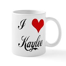 I Love Kaylee Mug