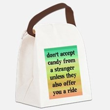 strangercandy_iphone1 Canvas Lunch Bag