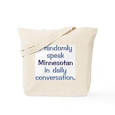 Minnesotan Square Tote Bag