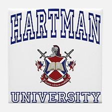 HARTMAN University Tile Coaster